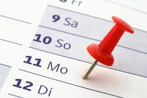 Beim Bausparvertrag ist der Widerruf in den ersten 14 Tagen möglich.